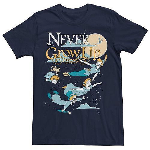 Men's Peter Pan Never Grow Up Graphic Tee