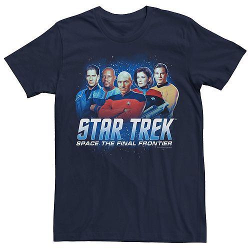 Men's Star Trek Space The Final Frontier Tee