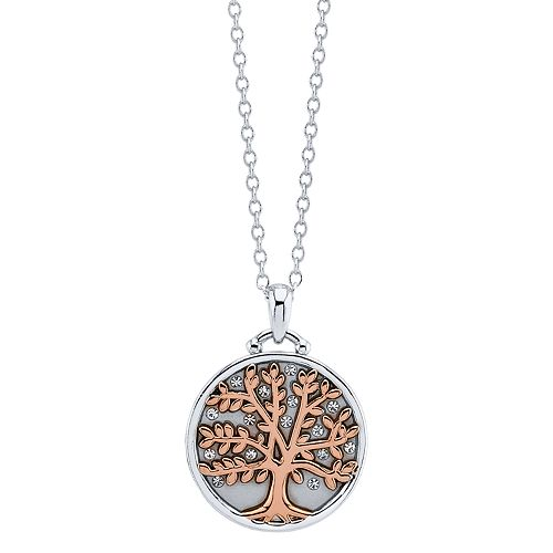 LovethisLife® Two-Tone Tree Pendant Necklace