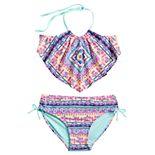 Girls 7-16 SO® Bandana-Rama 2-piece Swim Set