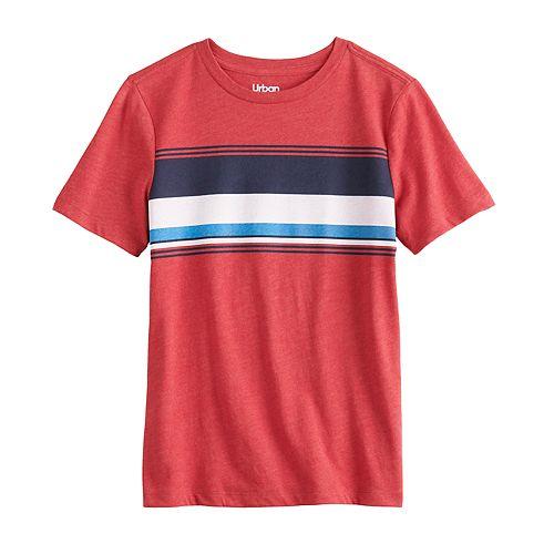 Boys 8-20 & Husky Urban Pipeline™ Chest Stripe Tee
