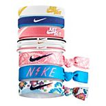 Girls Nike 9-Pack Youth Athletic Ponytail Holders