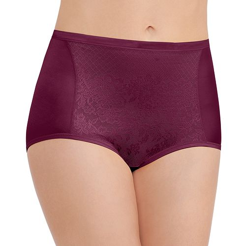 Vanity Fair Smoothing Comfort With Lace Brief Panty 13262