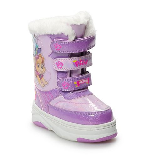 Paw Patrol Skye & Everest Toddler Girls' Winter Boots
