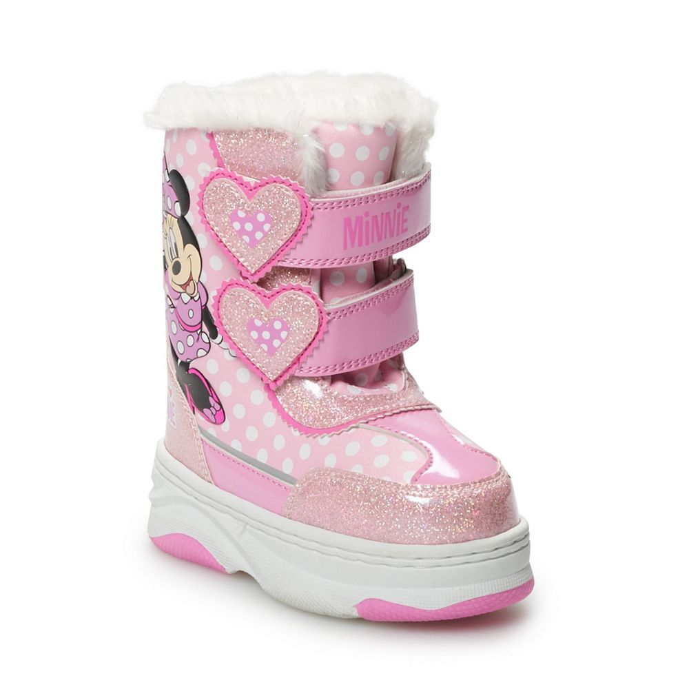Disney's Minnie Mouse Toddler Girls' Winter Boots