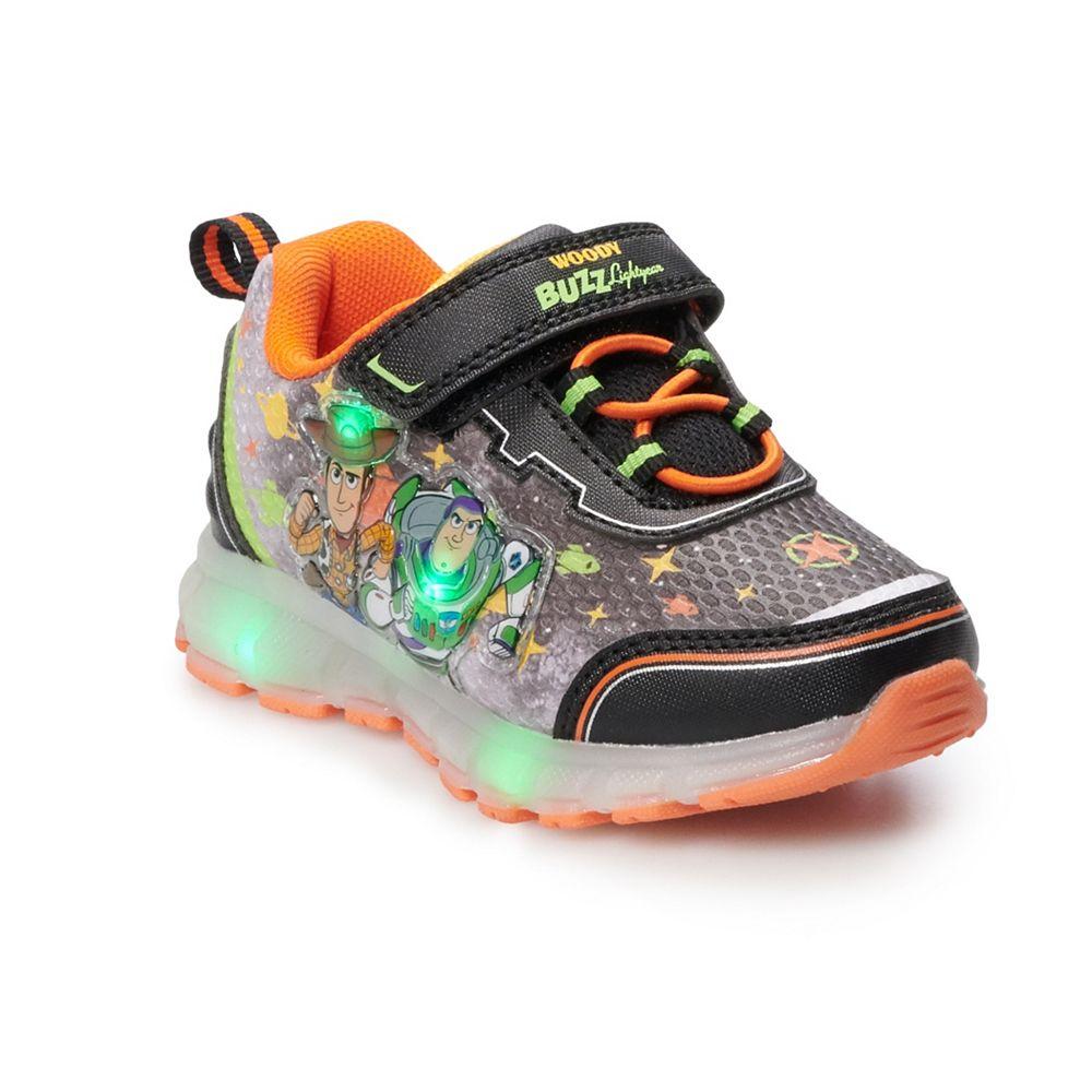 Disney / Pixar Toy Story 4 Woody & Buzz Toddler Boys' Light Up Shoes