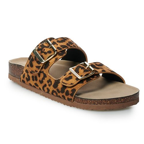 madden NYC Breckk Women's Footbed Sandals