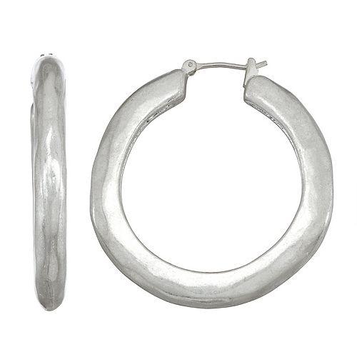 Bella Uno Hoop Earrings