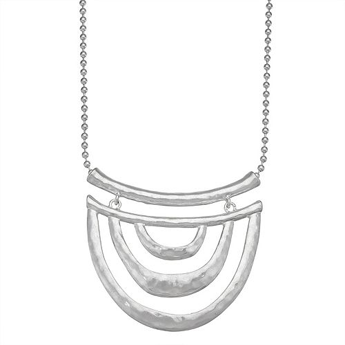 Bella Uno Half Moon Necklace