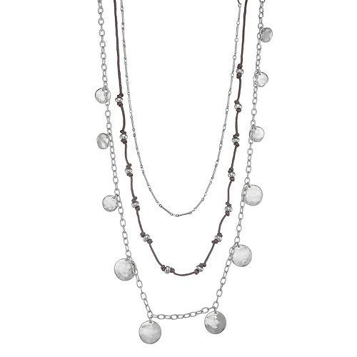 Bella Uno Triple Strand Necklace