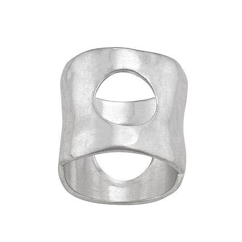 Bella Uno Cutout Circle Ring