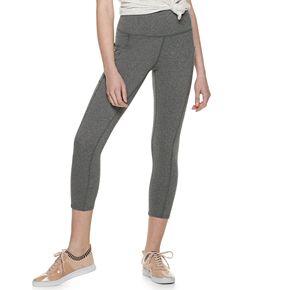 Juniors' SO® Cell Pocket Ankle Yoga Leggings
