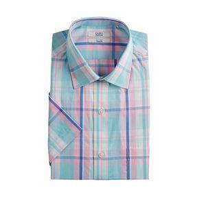 Men's Croft & Barrow® Big & Tall Classic-Fit Easy-Care Spread-Collar Dress Shirt