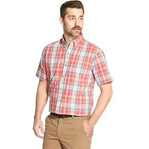 Men's Arrow Coastal Cove Patterned Button-Down Shirt
