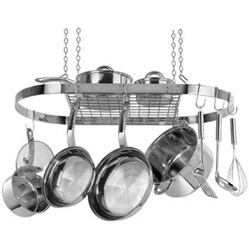 Range Kleen Stainless Steel Oval Pot Rack