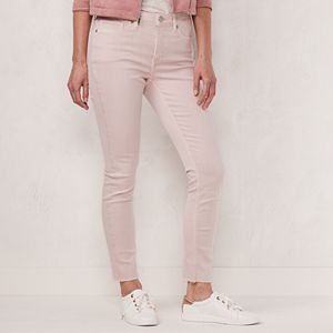 Petite LC Lauren Conrad High-Rise Skinny Ankle Jeans