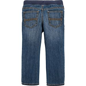 Toddler Boy Carter's Pull-On Denim Pants