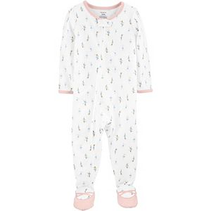 Baby Girl Carter's Ballet Zip Footie Pajamas