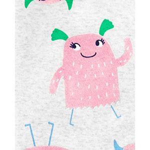 Baby Girl Carter's Footed Pajamas