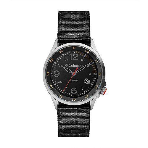 Columbia Men's Canyon Ridge Black Nylon Watch - CSC02-003