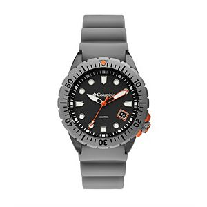 Columbia Men's Pacific Outlander Gray Silicone Watch - CSC04-002