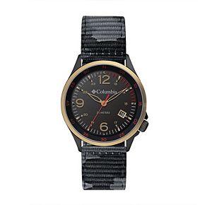 Columbia Men's Canyon Ridge Black Camo Nylon Watch - CSC02-002