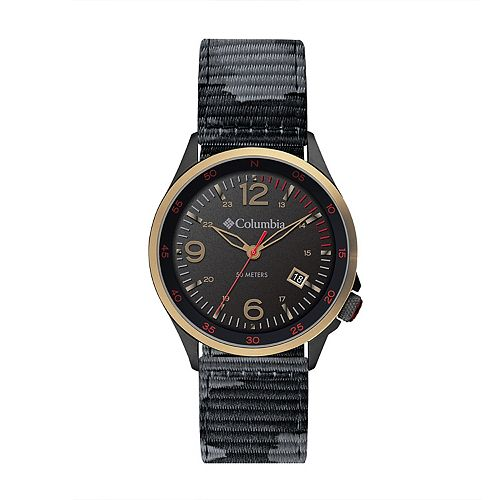 Columbia Men's Canyon Ridge Black Camo Nylon Watch - CSC02-002