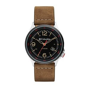 Columbia Men's Canyon Ridge Camel Leather Watch - CSC02-001