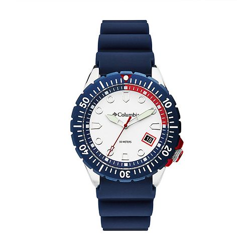 Columbia Men's Pacific Outlander Navy Silicone Watch - CSC04-003