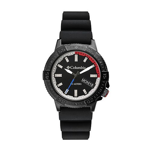 Columbia Men's Peak Patrol Black Silicone Watch - CSC03-001
