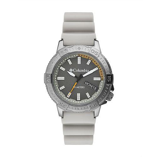 Columbia Men's Peak Patrol Gray Silicone Watch - CSC03-004