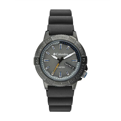 Columbia Men's Peak Patrol Gray Silicone Watch - CSC03-003