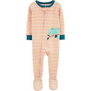 Baby Boy Carter's Cotton Footed Pajamas