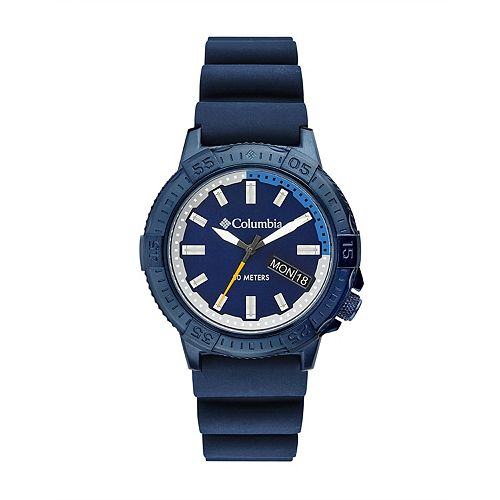 Columbia Men's Peak Patrol Navy Silicone Watch - CSC03-002