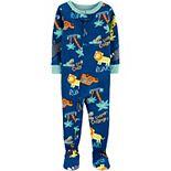 Toddler Boy Carter's Cotton Footed Pajamas