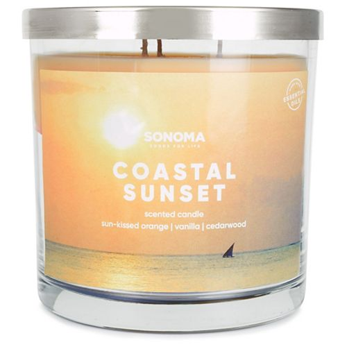 SONOMA Goods for Life™ 14-oz. Coastal Sunset Triple Pour Candle
