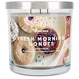 SONOMA Goods for Life? 14-oz. Fresh Morning Donuts Triple Pour Candle