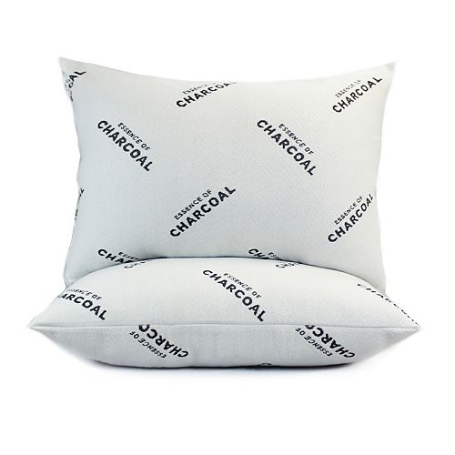 Essence of Charcoal 2-pack Bed Pillow