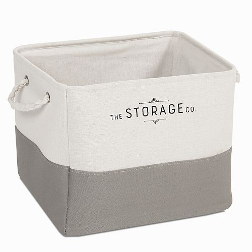Soho Market Classic Storage Co Large Canvas Storage Bin
