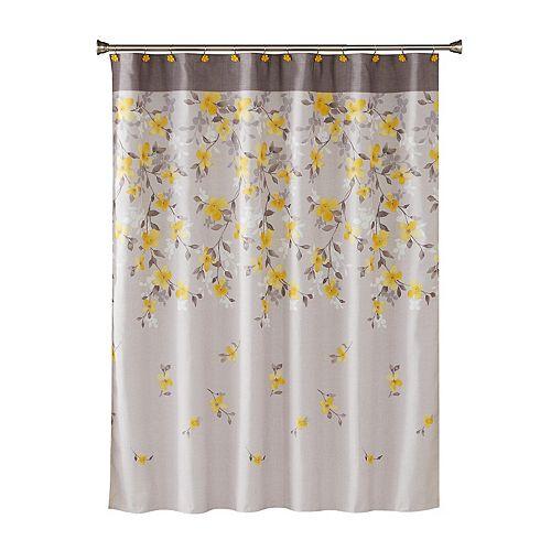 SKL Home Spring Garden Floral Shower Curtain