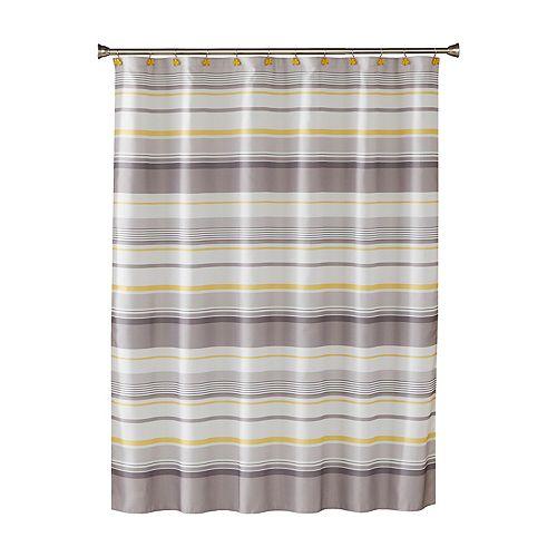 SKL Home Spring Garden Stripe Shower Curtain