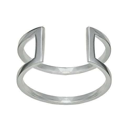 PRIMROSE Sterling Silver Open Band Ring