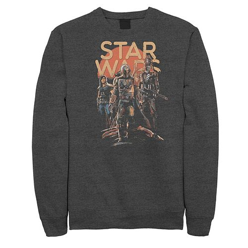 Men's Star Wars The Mandalorian Character Entourage Fleece