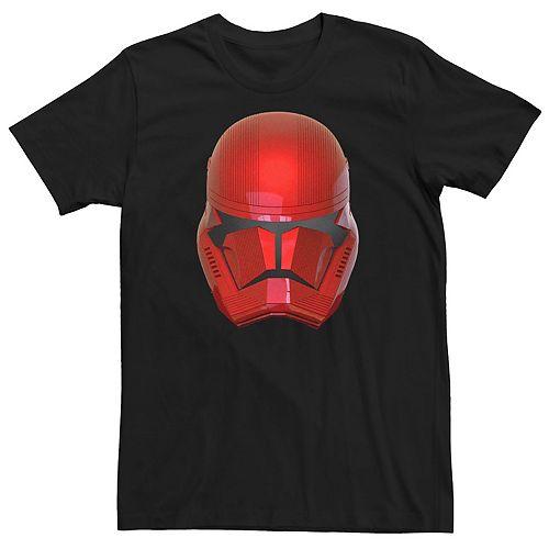 Men's Star Wars Star Wars Red Trooper Helmet Graphic Tee