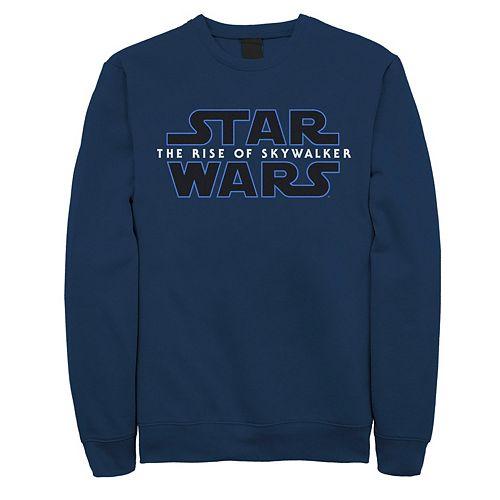 Men's Star Wars The Rise of Skywalker Classic Logo Graphic Fleece Pullover