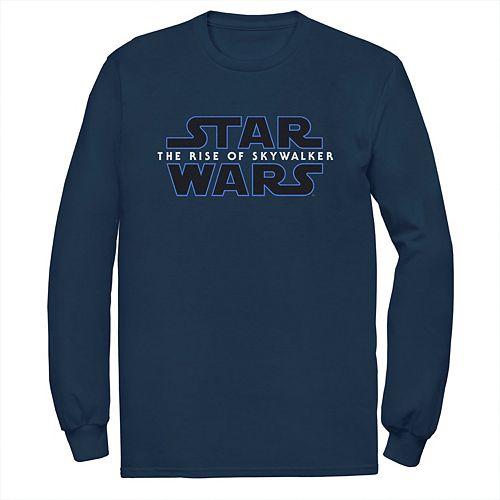 Men's Star Wars The Rise of Skywalker Badge Logo Long Sleeve Graphic Tee
