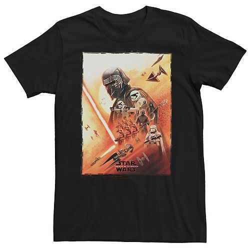 Men's Star Wars The Rise of Skywalker Kylo Poster Graphic Tee