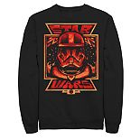 Men's Star Wars The Rise of Skywalker Artistic Sith Trooper Graphic Fleece Pullover