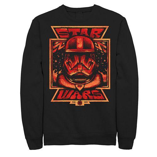 Men's Star Wars The Rise of Skywalker Artistic Sith Trooper Sweatshirt