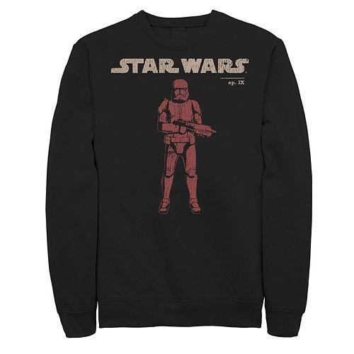 Men's Star Wars The Rise of Skywalker Retro Sith Trooper Graphic Fleece Pullover